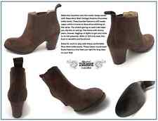 Nine West Vintage America Suede Chocolate Women's Ankle Boots: Size 8 M