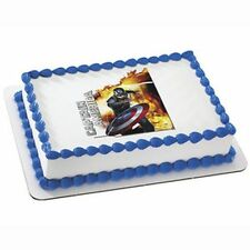 Lucks Edible Image Decoration ~ Captain America, The Winter Soldier ~ Pack of 6