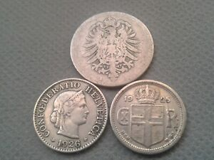 OLD COIN LOTS **World/Foreign coins 1876/25/26!! *COLLECTIBLES*