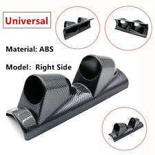 "|High Quality 2"" 52mm Dual Gauge Cover Mount Holder Carbon Fiber ABS For Car SUV"