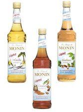 MONIN Sirup Gourmet Kaffee Light Kalorien reduziert  3 x 250 ml Set Frei Haus