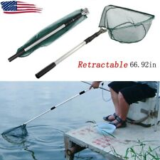 Telescopic Fishing Bait Net Trap Cast Dip Crab Fish Minnow Crawdad Shrimp Handle