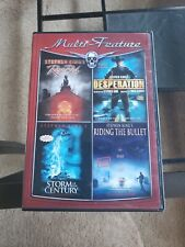 Stephen King DVD collection Red Rose/Storm Century/Desperation/Riding The Bullet