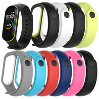 Replacement Silicone Wrist Strap Bracelet Watch band For Xiaomi Mi Band 4 3