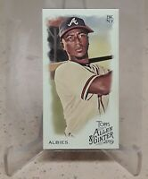2019 Topps Allen & Ginter Mini OZZIE ALBIES A&G Back No Number SSP /50