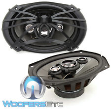"SOUNDSTREAM AF.694 6""X9"" 500W 4-WAY DOME TWEETERS COAXIAL SPIDER SPEAKERS NEW"