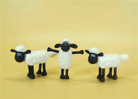 "LOT OF 3 TM AARDMAN Shaun the Sheep MINI FIGURE 2"" LOOSE"