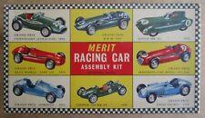 Vintage Mint Complete 1/24 Merit 1955 Mercedes Benz W196 Grand Prix Kit
