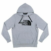 The North Face Mens Hoodie Pullover Sweatshirt Half Dome Fleece Lined Tnf New