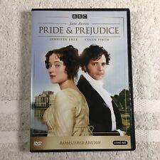 Pride and Prejudice (2-DVD Set 2010, Restored) Colin Firth BBC A&E Region 1 OOP