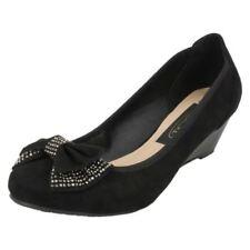 Zapatos de tacón de mujer plataformas de ante talla 37