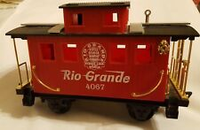 Other G Scale Vintage Train Tender By Scientific Toys Eztec Red/green 4112 Rio Grande G Scale