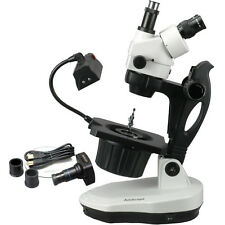 AmScope GM400TZ-10M 3.5X-90X Advanced Jewel Gem Microscope + 10MP Camera