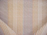 4Y Brunschwig & Fils BF10009 Galway Stripe Blue Grey Natural Upholstery Fabric