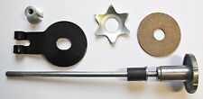 TRIUMPH T120 TR6 STEERING DAMPER ASSEMBLY knob rod anchor plate 97-1142  97-0413