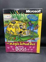 NEW SEALED THE MAGIC SCHOOL BUS EXPLORES BUGS BIG BOX PC CD-ROM GAME