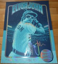 ICONIC BY COLLECTIONZZ ELTON JOHN LOS ANGELES SHINING SEQUINS EDITION RARE #2/20