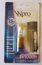 LRF006 WPRO AMPOULE LAMPE REFRIGERATEUR 230-240V 25W E14