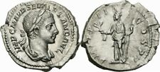 Alexander Severus Denar Rom 223 P M TR P II COS P P Pax Zepter Ölzweig RIC 27