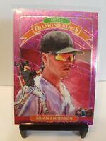 Brian Anderson 2020 Donruss Optic PINK VELOCITY Diamond Kings/199 Miami Marlins