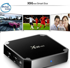 Smart TV Box X96 Mini Android 4K Ultra HD Amlogic S905W WIFI Kodi Fully Setup