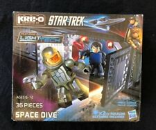 Star Trek Kre-O Light Tech Space Dive 36 Pieces with Batteries Hasbro Brand New