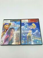 Sony PlayStation 2 PS2 Final Fantasy X Final Fantasy X-2 Lot Bundle
