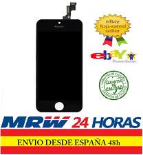 PANTALLA COMPLETA TACTIL LCD PARA IPHONE 5S CRISTAL RETINA DIGITALIZADOR NEGRA