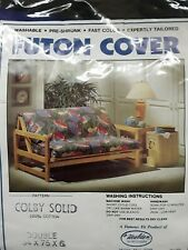Futon cover, full sz.,cotton twill, never used.