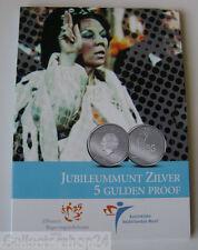 Coin / Munt Nederlandse Antillen 5 Gulden 2005 Koningin Beatrix Zilver Proof