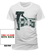 Official The Clash T Shirt Hits Back Punk Rock Best of Clash