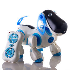 Smart Storytelling Robot Dog Sing Dance Walking Talking Dialogue pet Toy IR RC