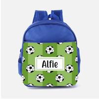 Personalised Backpack BLACKBURN ROVERS Boys School Bag Sports Football CF41