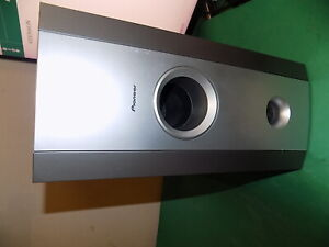 PIONEER Active Powered Subwoofer Grey S-DV77SW Untested Sold as Spares