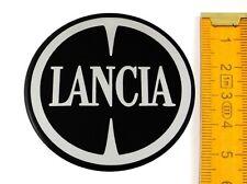 LANCIA ★ 4 Stück ★ SILIKON Ø55mm Aufkleber Emblem Felgenaufkleber Radkappen