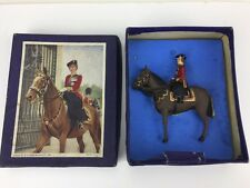 Timpo Queen on Horseback lead figure 1950's Boxed 12216