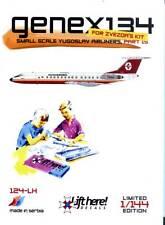 lh124/ Lift Here Decals - Tupolev Tu-134 - Aviogenex - 1/144 - TOPP