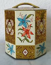 Tin Can Coffee Tin Tea Tin Box Fritsch Coffee Container Made in Western Germany