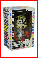 "Qee Oxop Toy2R Barcode CSA Design Bear 8"" Vinyl Figure New."