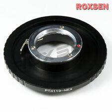 Pentax PTX 110 P110 lens to Sony E Mount Adapter NEX-5 7 A3000 A6000 VG10 A5100