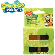 SpongeBob Icing 4 Color Set from Wilton #5130 New