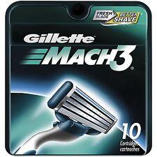 Gillette MACH3 Refill Cartridges 10 ea (Pack of 3)