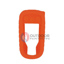 Custom Orange Silicon Protective Case for Garmin gps Alpha 100 (50)