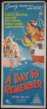 A Day To Remember (1953) Australian Daybill