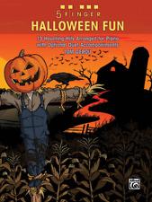 """5 Finger Halloween Fun"" MUSIC BOOK-ELEMENTARY PIANO-OPTIONAL DUET-NEW ON SALE!!"
