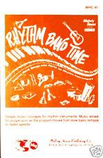 RHYTHM BAND TIME tape 1978 Yellow Sombrero