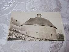 Old Farming Postcard Silo Farm Building Rppc Real Photo Vintage T*