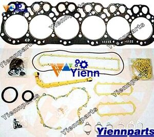 EH700 EH700T Engine Overhaul Gasket Kit For HINO Engine Truck KL545 KL525 KR365