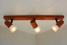 Plafonniers et lustres lumière dirigée en bois pour la maison