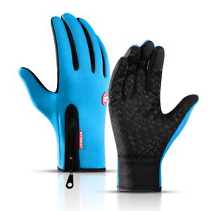 Winter Ski Mens Gloves Women Warm Lady Rain-proof Waterproof Touch Screen Gloves